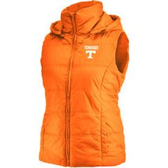 Tennessee Volunteers Colosseum Women's Snowcat Puffer Vest - Tennessee Orange