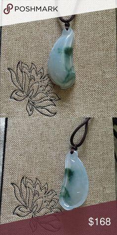 Certified grade A jadeite jade pendant All jades come with original certificate. Jewelry Necklaces