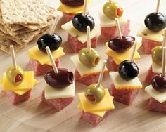 Make ahead appetizer! An adorable combination that is always a tasty hit at any gathering.