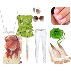 Summer Green, created by swilkinson on Polyvore http://www.wheretogotonight.com/