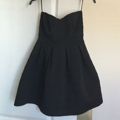 Black dress, NWOT. Size S Black tight fitting dress, size S. Bought new and came without tags, however brand new and never worn.  Beautiful fun and flirty dress, perfect for spring and summer right around the corner. Sans Souci Dresses Strapless