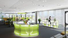 LED Back Lit Furniture Edison Lighting, Divider, Reception Desks, Led, Lights, Room, Furniture, Design, Home Decor
