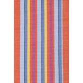 Found it at AllModern - Woven Cotton Tigerlily Striped Rug