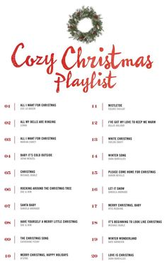 A cozy Christmas playlist that puts you in the holiday spirit! A cozy Christmas playlist that puts you in the holiday spirit! Christmas Mood, Merry Little Christmas, Noel Christmas, All Things Christmas, Christmas Crafts, Christmas Cookies, Christmas List Ideas, Christmas Countdown, Hygge Christmas