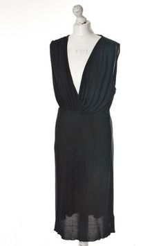 Jedwabna czarna #sukienka #JOSEPH 245,00 PLN #wzorcownia, #topbrands, #highfashion, #dress, #woman