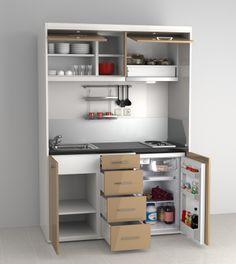 KC-01 Kompakt mutfak modeli büyük bir mutfakta yapabileceğiniz birçok işlemi kolayca yapabileceniğiniz eşşsiz bir tasarım ve kullanım kolaylığına sahiptir.