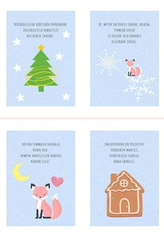 Finnish Language, Preschool Christmas, Cute Art, Kindergarten, Projects To Try, Playing Cards, Teaching, Education, Crafts