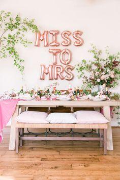 Roses And Rosé: Babes That Brunch Bridal Shower Ideas #bridalshower #bridalshowerinspiration #weddinginspiration #bridetobe #tabledecor #balloons #brideballoons Bridal Shower Crafts, Bridal Shower Rustic, Bridal Shower Party, Bridal Shower Decorations, Bridal Shower Invitations, Diy Wedding Decorations, Bridal Shower Ballons, Wedding Showers, Wedding Ideas