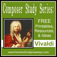 Vivaldi Composer Study Packet - This week is all about Vivaldi! Included is a list of printables, resources and ideas for you to use to create your own Vivaldi Composer Study! Music Lessons For Kids, Music Lesson Plans, Music For Kids, Piano Lessons, Music Activities, Movement Activities, Leadership Activities, Group Activities, Music Classroom