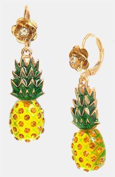 45 best pineapple earrings images in 2019 pineapple earringsbetsey johnson \u0027rio\u0027 pineapple drop earrings available at nordstrom pineapple jewelry, pineapple earrings