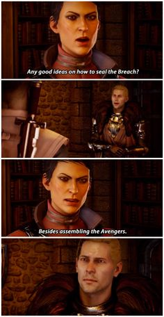 Dragon Age: Inquisition, what probably happened before they found the Herald at the temple.