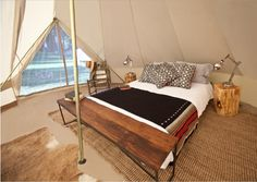Glamping bei Shelter & co