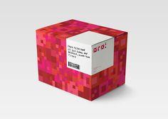 OGO! on Behance generative, pattern, identity, design, corporate, stationery, shop, store, market, red, logo, branding, buisness card, id, case, folder, typography, packege, bag