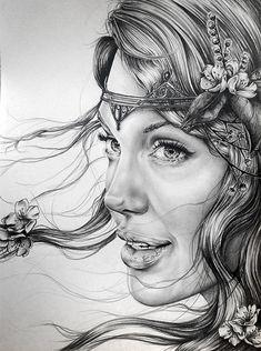 Blodeuwedd by Ashtoreth (Angelina Jolie)