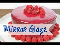 MIRROR GLAZE Rezept [ohne Gelatine] | Spiegelglasur selber machen - Torten ohne Fondant [deutsch] - YouTube Baker And Cook, Mirror Glaze Cake, Baking Basics, Funny Cake, Cake Recipes From Scratch, Homemade Cake Recipes, Dessert Decoration, Glaze Recipe, Cake Decorating Tutorials