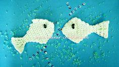 Edinir-Crochê: Vídeo Aula Crochê - Peixes Modelo 1