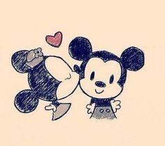 minnie and mickey | so cute
