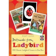 """""""Ladybird"""" Collection of 100 Postcards from Ladybird - TK Maxx Little Books, Good Books, Learn To Read Books, Baker And Taylor, Unusual Presents, Postcard Book, Ladybird Books, Book Stationery, Book People"""