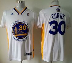 Revolution 30 Warriors Stephen Curry White Alternate The Finals Patch  Stitched NBA Jersey 6043298397ae