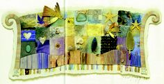 Sarah Lugg  From Book: Paper Quilting, by Bridget Hoff, Publ: Sterling/Chapelle, 2002