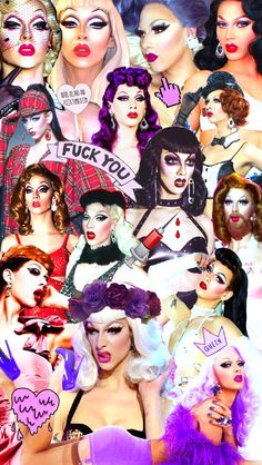 adore-delano-and-pizza:Violet Chachki collage - RPDR- RuPaul's Drag Race - Season 7