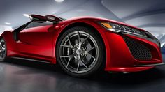 acura reveals production version of next-generation NSX