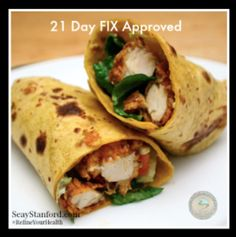 21 Day FIX Lunch Recipes