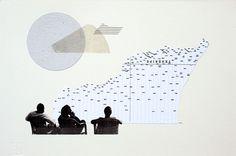 Os presentamos el trabajo de Raúl Lázaro, un artista visual de Madrid. El cual se caracteriza principalmente por trabajar habitualmente con papel y collage para cara crear sus proyectos en editoriales, revistas, periódicos y otros medios.
