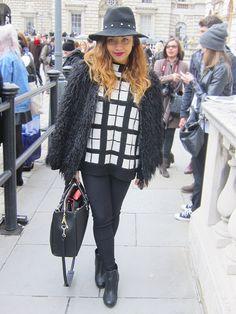 London Fashion Week #2013: Street Style #lfw