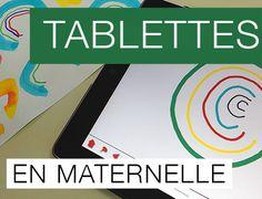 Tablettes en maternelle - tablets in kindergarten Book Creator, Ipad, French Classroom, Google Classroom, In Kindergarten, The Voice, How To Find Out, Homeschool, Science