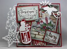 Amy design Christmas greetings HZ12