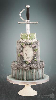 The Princess Bride cake: