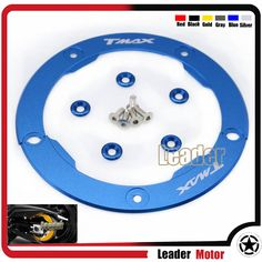 Motorcycle Accessories New Parts Transmission Belt Pulley Protective Cover Blue For Yamaha T MAX 530 TMAX530 T-MAX530 2012-2015 #Affiliate