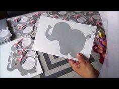 INVITACION BABY SHOWER ELEFANTE - YouTube