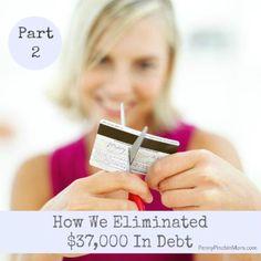 My Debt Free Journey (Part 2) - http://www.pennypinchinmom.com/debt-free-journey-part-2/