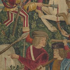 #5 Unicorn Killed & Brought 2 Castle Unicorn Tapestries, Tapestry, French Cartoons, 16th Century, Medieval, Castle, Bring It On, The Incredibles, Colours