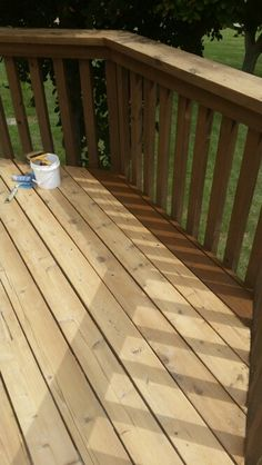Sherwin Williams Deckscapes Riverwood for the semi-transparent ...