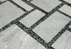 Hand Cut Kavalas Slate (Random Pattern)   Akrolithos Crazy Paving, Random Pattern, French Pattern, Flat Rock, Garden Steps, Grey Tiles, Alexander The Great, Star Sky, Slate