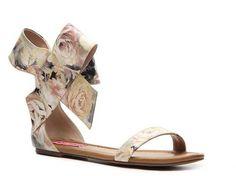 Betsey Johnson Flavour Flat Sandal | DSW. Women's Flat SandalsShoes ...