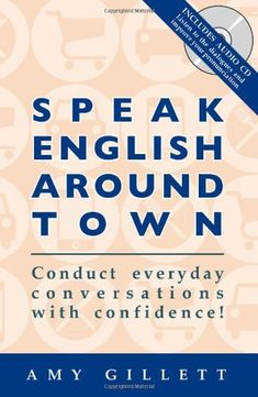 It's the book and CD that will help you navigate daily life in English -- Speak English Around Town. With useful scenarios like dining in a restaurant, ordering food at a sandwich shop, taking a taxi, and dozens more. Free Books, Good Books, Books To Read, Book Club Books, The Book, American English, Second Language, Book Recommendations, Learn English