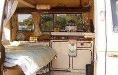 Awesome Camper Van Conversion Ideas - The Urban Interior Bus Camper, Vw Caravan, Camper Life, Campers, Bus Life, Volkswagen Bus Interior, Campervan Interior, Rv Interior, Interior Ideas