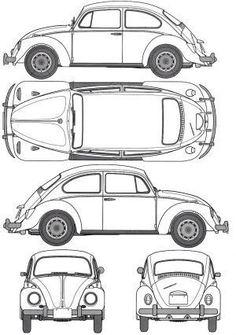 Orthographic drawing of car. Rosalia Febyola Puspita Hadi, kelas 1 kelompok 4