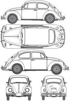 Orthographic drawing of car. Rosalia Febyola Puspita Hadi, kelas 1 kelompok 4