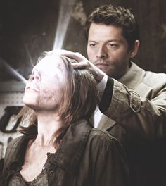 Cas' face though, he looks so bored being a bad ass Sam And Dean Winchester, Supernatural Seasons, Jessica Jones, Two Brothers, I Miss Him, The Brethren, Misha Collins, Daredevil, Destiel