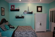 Teen Girls' Bedroom Makeover! I love how it turned out!