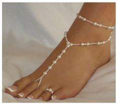 Pearl Anklet Chain