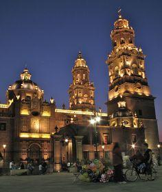 Catedral de Morelia, Michoacán, México