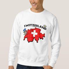Shop Swiss Map Sweatshirt created by swisssoup. Switzerland Flag, Kids Outfits, Fitness Models, Tee Shirts, Graphic Sweatshirt, Map, Sweatshirts, Flags, Casual