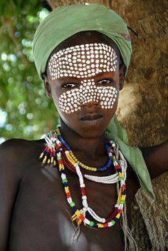 Special face paint.  #art #culture #diversity #beauty #purpose #expression