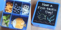 Add chalkboard contact paper to a Spencer Bento Box Container from Pottery Barn Kids